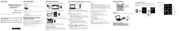 Sony NWZ-E453 - NWZ-E453 Guida di configurazione rapid Turco
