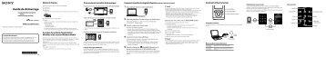 Sony NWZ-E453 - NWZ-E453 Guida di configurazione rapid Francese