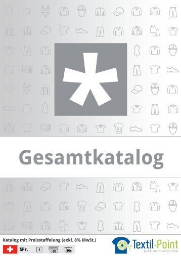 Gesamtkatalog - Katalog (Textil-Point GmbH)