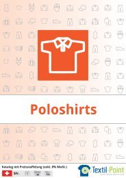 Poloshirts - Katalog (Textil-Point GmbH)