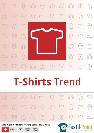 T-Shirts Trend - Katalog (Textil-Point GmbH)