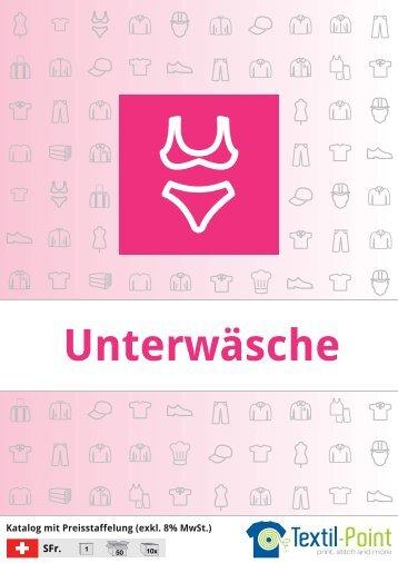 Unterwäsche - Katalog (Textil-Point GmbH)