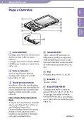 Sony NWZ-A845 - NWZ-A845 Istruzioni per l'uso Portoghese - Page 6