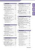 Sony NWZ-A845 - NWZ-A845 Istruzioni per l'uso Ceco - Page 4