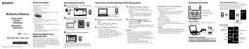 Sony NWZ-A845 - NWZ-A845 Guida di configurazione rapid Turco