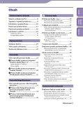 Sony NWZ-A845 - NWZ-A845 Istruzioni per l'uso Slovacco - Page 3