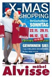 Möbel Alvisse - X-Mas Shopping 2015
