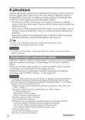 Sony NW-A1200 - NW-A1200 Istruzioni per l'uso Ceco - Page 2