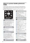Sony NW-A1200 - NW-A1200 Istruzioni per l'uso Ceco - Page 6