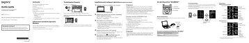 Sony NWZ-E573 - NWZ-E573 Istruzioni per l'uso Italiano