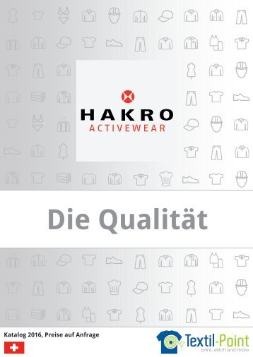 Hakro - Katalog (Textil-Point GmbH)