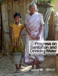 2015 Update and MDG Assessment