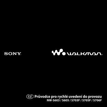 Sony NW-S703F - NW-S703F Istruzioni per l'uso Ceco
