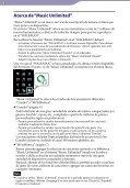 Sony NWZ-S765BT - NWZ-S765BT Istruzioni per l'uso Spagnolo - Page 3