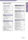 Sony NWZ-E438F - NWZ-E438F Istruzioni per l'uso Tedesco - Page 4