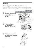 Sony NW-E507 - NW-E507 Istruzioni per l'uso Slovacco - Page 6