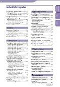 Sony NWZ-S636F - NWZ-S636F Istruzioni per l'uso Danese - Page 4
