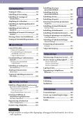 Sony NWZ-S636F - NWZ-S636F Istruzioni per l'uso Danese - Page 5