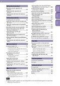 Sony NWZ-S636F - NWZ-S636F Istruzioni per l'uso Spagnolo - Page 5