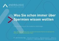 Was Sie schon immer über Spermien wissen wollten - maennerarzt.ch