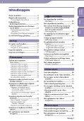 Sony NWZ-S636F - NWZ-S636F Istruzioni per l'uso Olandese - Page 4