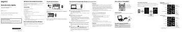 Sony NWZ-E474 - NWZ-E474 Istruzioni per l'uso Spagnolo