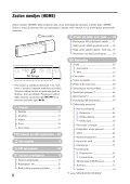 Sony NW-E015F - NW-E015F Istruzioni per l'uso Sloveno - Page 6
