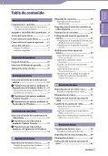 Sony NWZ-S544 - NWZ-S544 Istruzioni per l'uso Spagnolo - Page 3