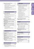 Sony NWZ-S544 - NWZ-S544 Istruzioni per l'uso Spagnolo - Page 4