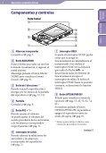 Sony NWZ-S544 - NWZ-S544 Istruzioni per l'uso Spagnolo - Page 5
