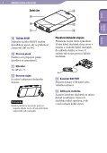 Sony NWZ-S544 - NWZ-S544 Istruzioni per l'uso Ceco - Page 6