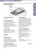 Sony NWZ-S544 - NWZ-S544 Istruzioni per l'uso Danese - Page 5
