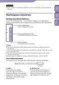Sony NWZ-S544 - NWZ-S544 Istruzioni per l'uso Finlandese - Page 2