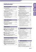 Sony NWZ-S544 - NWZ-S544 Istruzioni per l'uso Finlandese - Page 3