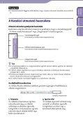 Sony NWZ-S544 - NWZ-S544 Istruzioni per l'uso Ungherese - Page 2