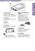 Sony NWZ-S544 - NWZ-S544 Istruzioni per l'uso Turco - Page 6