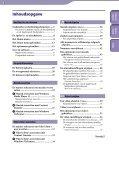 Sony NWZ-S544 - NWZ-S544 Istruzioni per l'uso Olandese - Page 3