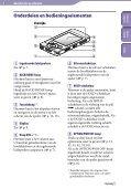 Sony NWZ-S544 - NWZ-S544 Istruzioni per l'uso Olandese - Page 5