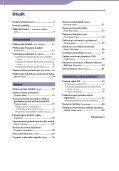 Sony NW-E003 - NW-E003 Istruzioni per l'uso Ceco - Page 4