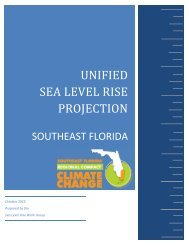 UNIFIED SEA LEVEL RISE PROJECTION