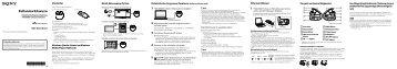 Sony NWZ-W263 - NWZ-W263 Guida di configurazione rapid Turco