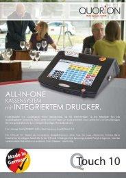 QTouch 10 All-in-One Kassensystem mit ... - Berchtold Kassen