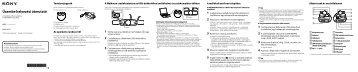 Sony NWZ-W273 - NWZ-W273 Guida di configurazione rapid Ungherese