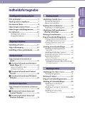 Sony NWZ-E445 - NWZ-E445 Istruzioni per l'uso Danese - Page 3