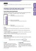 Sony NWZ-E445 - NWZ-E445 Istruzioni per l'uso Ceco - Page 2