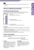 Sony NWZ-E445 - NWZ-E445 Istruzioni per l'uso Portoghese - Page 2