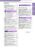 Sony NWZ-S516 - NWZ-S516 Istruzioni per l'uso Rumeno - Page 4