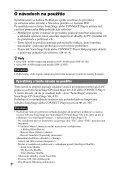 Sony NW-A1000 - NW-A1000 Istruzioni per l'uso Slovacco - Page 2
