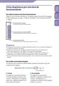 Sony NWZ-B142F - NWZ-B142F Istruzioni per l'uso Spagnolo - Page 2