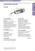 Sony NWZ-B142F - NWZ-B142F Istruzioni per l'uso Spagnolo - Page 5